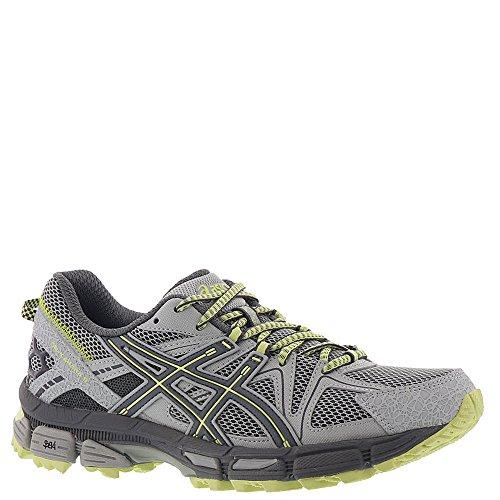 ASICS Gel-Kahana 8 Trail Running Shoes – Women's, Mid Grey/Carbon/Limelight, T6L5N.9697-7.5