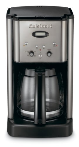 Cuisinart DCC-1200BCH Brew Central 12-Cup Programmable Coffeemaker, Black Chrome