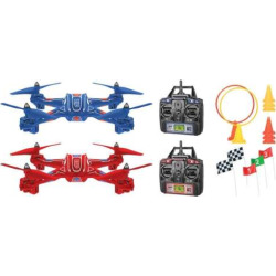World Tech Toys Zip & Zap Racing Drone 4.5ch RC Quadcopter, Multicolor