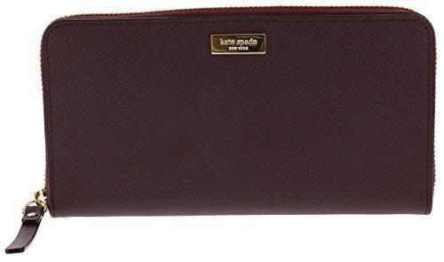 Kate Spade Newbury Lane Neda Leather Wallet (Mulled Wine)