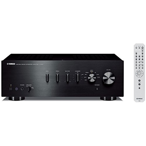 yamaha a s301bl natural sound integrated stereo amplifier black - Yamaha A-S301BL Natural Sound Integrated Stereo Amplifier (Black)
