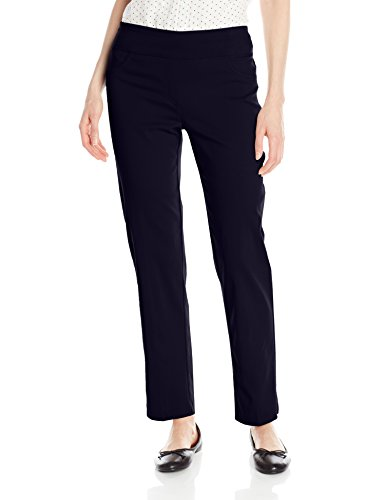 Ruby Rd. Women's Pull-On Solar Millennium Super Stretch Pant, Navy, 14