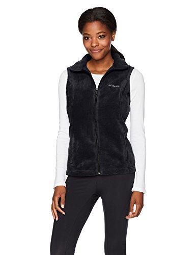 Columbia Women's Benton Springs Soft Fleece Vest, black, L