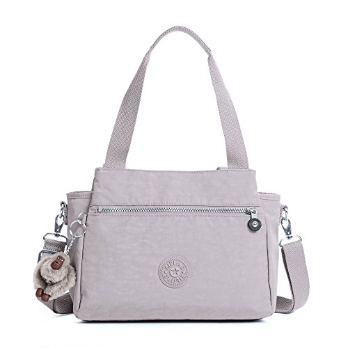 Kipling Elysia Solid Convertible Crossbody Bag, Slate Grey