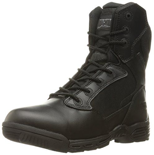 Magnum Women's Stealth Force 8.0 Side Zip Military & Tactical Boot, Black, 8.5 M US