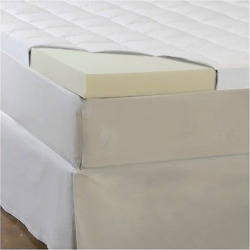 ComforPedic Loft from Beautyrest 5.5 Memory Foam/Fiber Topper – White (Full)