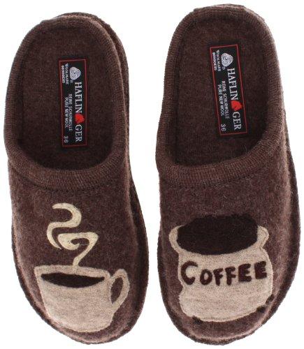 Haflinger Women's AR Coffee Earth Flat,39 EU/8 M US