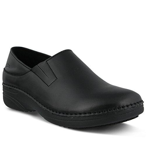 Spring Step Women's Manila Work Shoe, Black, 7 M US