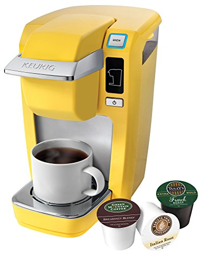Keurig K10 Mini Plus Brewing System, Banana Yellow