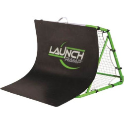 Youth Franklin Sports Soccer Launch Ramp, Black