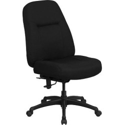 Hercules Series 400 lb. Capacity High Back Big & Tall Executive Swivel Office Chair Black – Flash Furniture