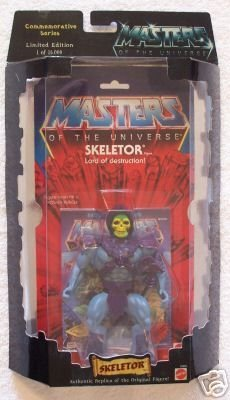 Masters of the Universe – Skeletor Figure – Commemorative Series – Limited Edition – 1 of 15,000 – Mattel – RARE – Collectible – (E)