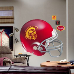 Fathead University of Southern California Trojans Helmet Wall Decal, Multicolor