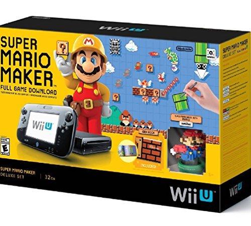 super mario maker console deluxe set nintendo wii u - Super Mario Maker Console Deluxe Set - Nintendo Wii U