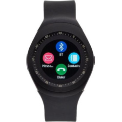 iTouch Curve Unisex Smart Watch – ITR4360B788-003, Size: Large, Black