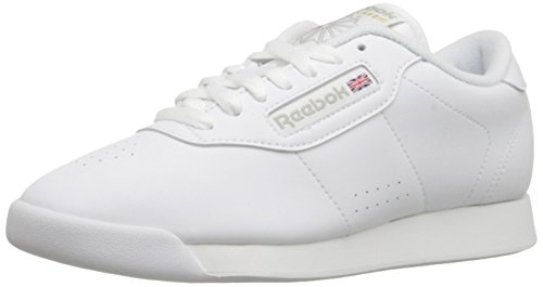 Reebok Women's Princess Sneaker,White,7.5 W