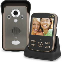 Wireless 2.4GHz Video Door Phone / Intercom System