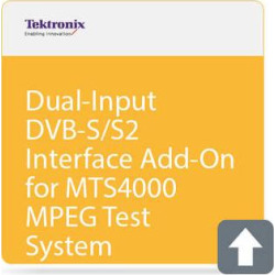 Tektronix Dual-Input DVB-S/S2 Interface Add-On for MTS4000 MPE MTS4000 DS2
