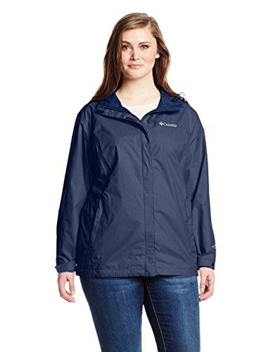 Columbia Women's Plus Size Big Arcadia II Jacket Navy, 2X