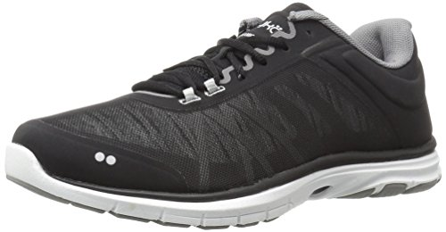 RYKA Women's Dynamic 2.5 Cross-Trainer Shoe,Black/White,9 M US