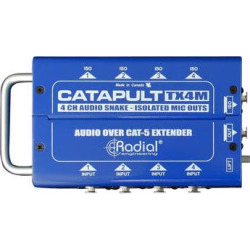 Radial Engineering Catapult TX4L 4-Channel for Line-Level Signal Routin R800 8024