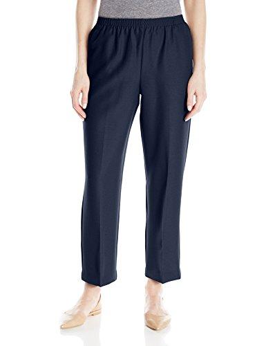 Alfred Dunner Women'S Petite Short Pant, Navy, 16P