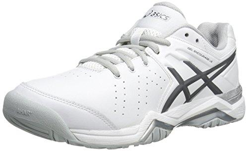 ASICS Women's Gel-Encourage Le Tennis Shoe,White/Silver,7.5 M US