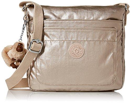 Kipling Sebastian Crossbody Bag, Sparklygld