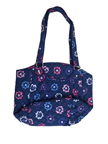 Vera Bradley Glenna Shoulder Bag, Signature Cotton (Ellie Flowers)