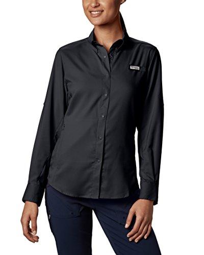 Columbia Women's Tamiami II Long Sleeve Shirt, Medium, Black