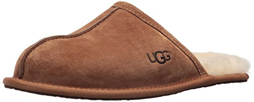 UGG Men's Scuff Slipper, Chestnut, 18 M US