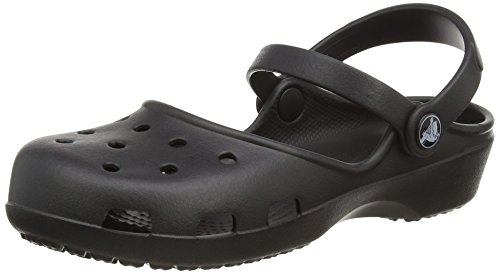 Crocs Women's KarinClog, Black, 10 M US