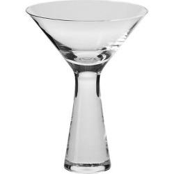 Krosno Kai Martini Glasses Handmade 8oz. Set of 4, Clear
