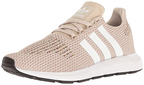 adidas Originals Women's Swift W Running-Shoes,clear brown/white/core black,9 M US