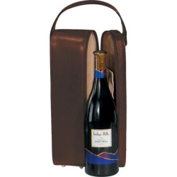 Royce Leather Wine Presentation Case, Brown