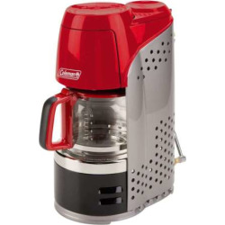 Coleman 10-Cup Portable Propane Coffeemaker, Multicolor