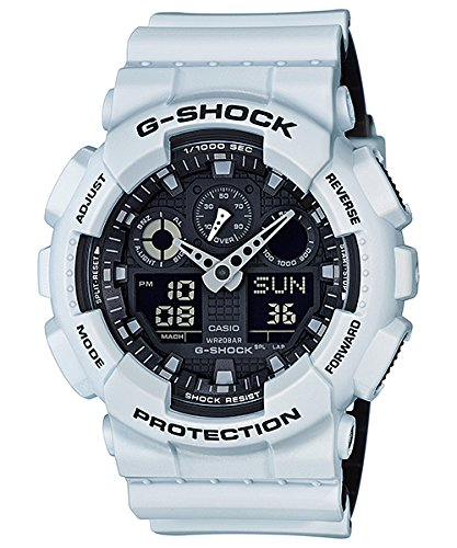 G-Shock GA-100 Military Series Watches – White/One Size