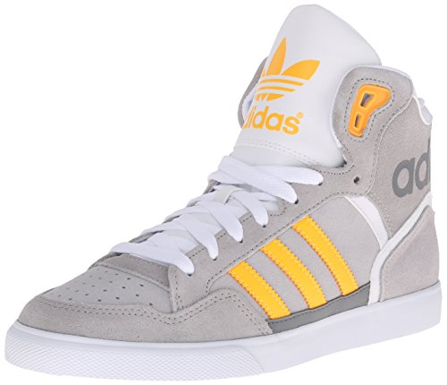 adidas Originals Women's Extaball w, MGH Solar Yellow/LGH Solid Grey, 8.5 M US