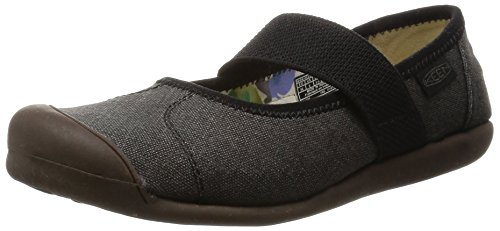 KEEN Women's Sienna MJ Canvas Mary Jane, New Black, 7 M US