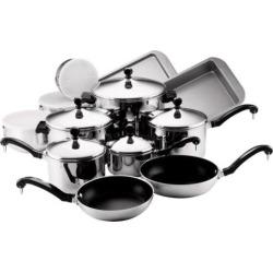 Farberware Classic Series 17-pc. Cookware Set, Multicolor