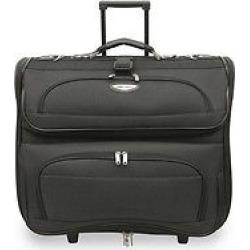 Travel Select Amsterdam Rolling Garmet Bag – Black, Gray