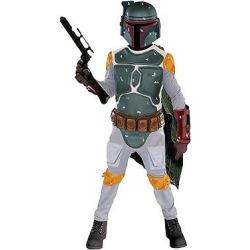 Star Wars Kids' Boba Fett Costume M(8-10), Boy's, Multicolored
