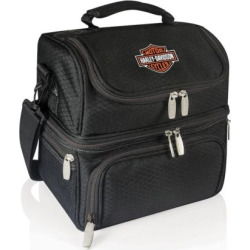 Picnic Time Pranzo Harley-Davidson Insulated Lunch Cooler, Black