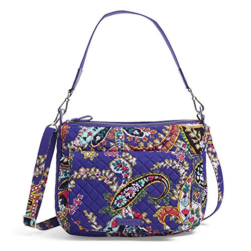 Vera Bradley Carson Shoulder Bag, Signature Cotton, Romantic Paisley