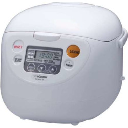 Zojirushi 10-cup Rice Cooker and Warmer, White
