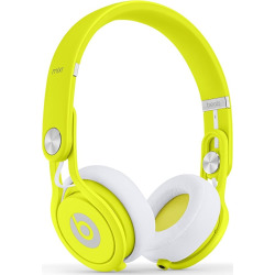 Beats by Dr. Dre Mixr On-Ear Headphones David Guetta Edition – Neon Yellow (Refurbished)