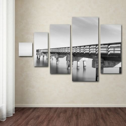 Infinity Panorama 5-piece Canvas Wall Art Set, Multicolor