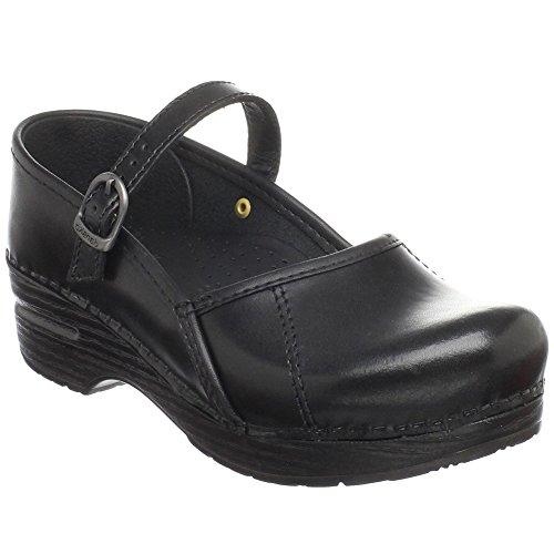 Dansko Stylish Marcelle Women Mules & Clogs Shoes, Elegant Footwear, Fashion, Black�Cabrio, Size – 39