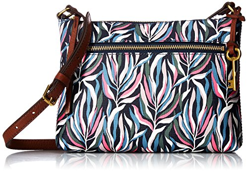 Fossil Fiona Small Crossbody Bag, Sea Pink