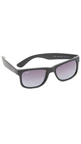 Ray-Ban Men's Justin Sunglasses, Black, One Size